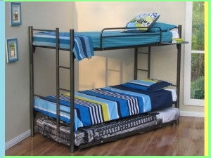 Contemporary Steel Bunk Beds