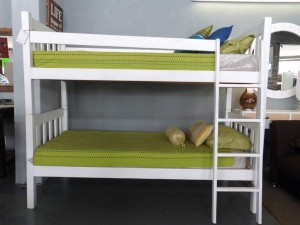 Vertical Slatted High Heavy Duty Bunk Bed