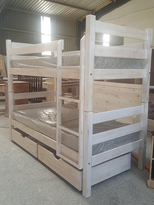 Heavy Duty High Height Double Bunk Beds
