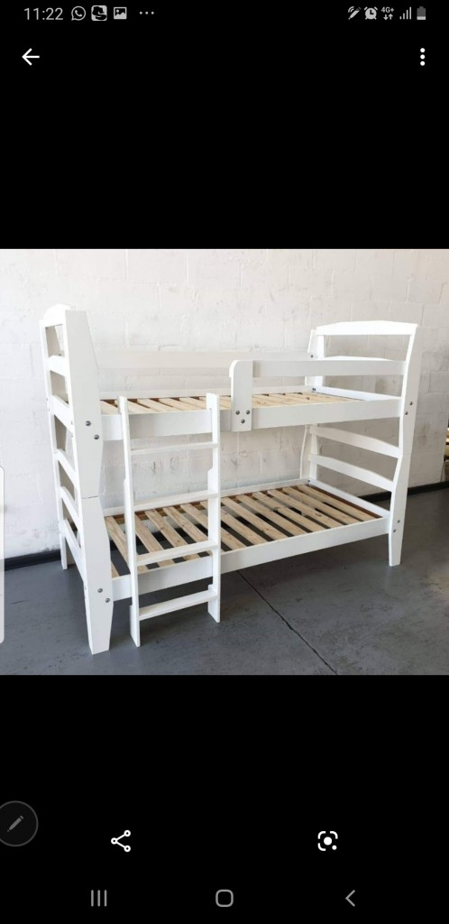 Decor Bunk Bed in White