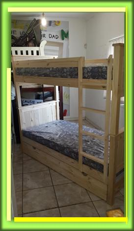 Solid Headboard Bunk Bed
