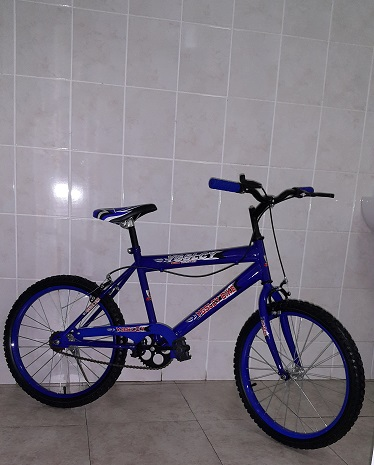 20 Inch BMX Bicycle in Blue