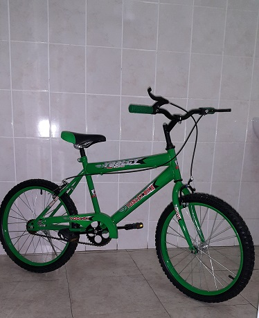 20 Inch BMX Bike in Fashion Green