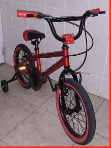 BMX 16 inch Orange Bronze Entry Level Trick Bicycle