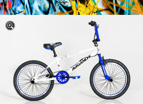 DS-DV8 White Avalanche Bicycle