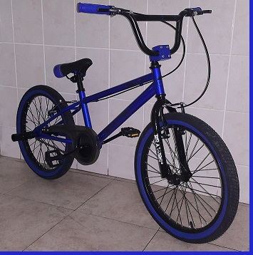 Entry Level Trick BMX 20 inch Bike Blue