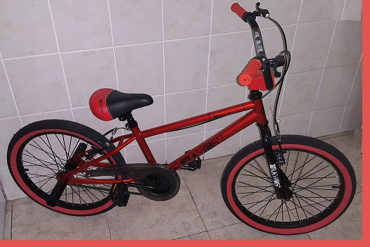 Red Entry Level 20 inch BMX Trick Bicycle