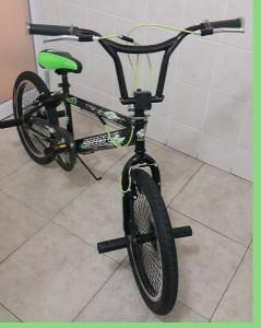 Green and Black Trick BMX 20 inch Bike