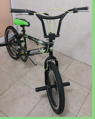 Green and Black Trick BMX 20 inch Bike