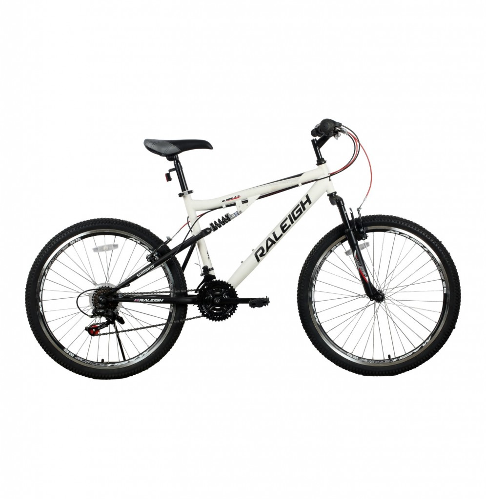 Raleigh 24 inch Mountain Bike with shocks