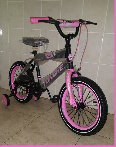 Pink 16 inch BMX Bicycle
