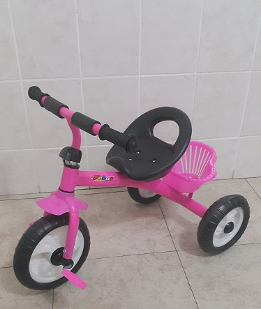 Pink Tricycle Bicycle