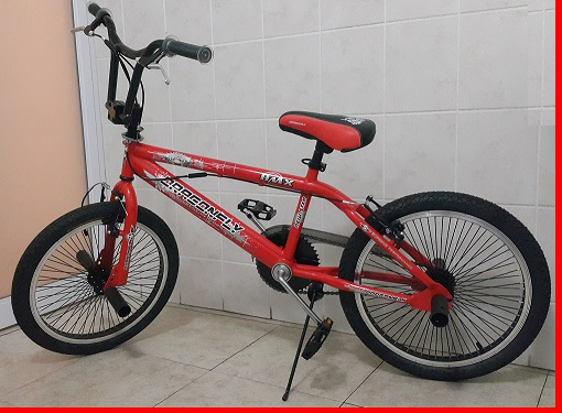 Red Full Performance Trick BMX 20 inch Bicycle