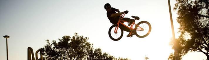 Various Trick BMX bicycles