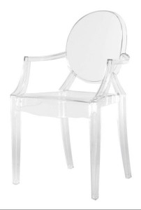 Ghost Chairs with Arms