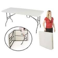 Fold Up Table Easy to carry with handle and for storing under the bed or behind the cupboard