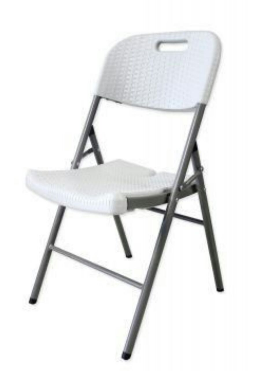 Heavy Duty Fold Up Blow Moulded Plastic Chairs