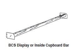 BCS Display or Cupboard Bar