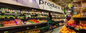 BCS Shelving in Fresh Produce Store