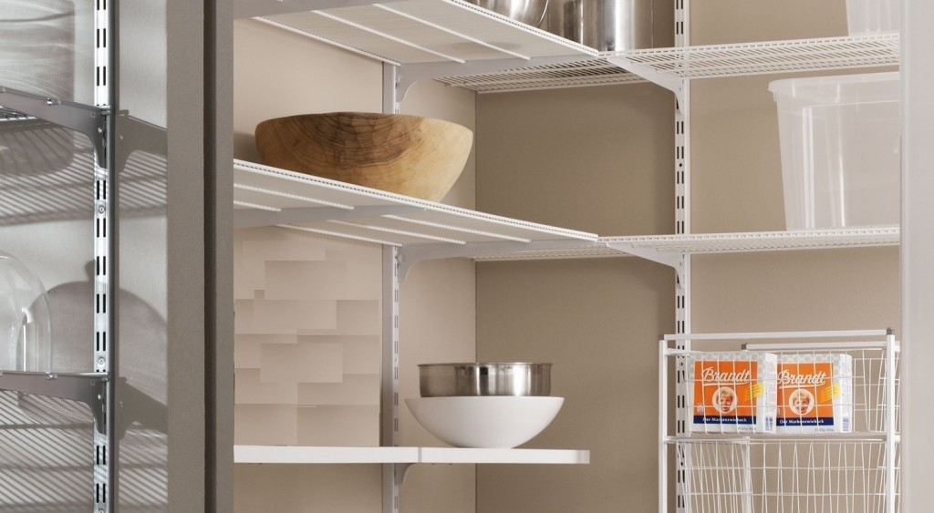 BCS Easy Pantry Clip In Shelving