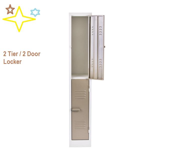 Locker 2 Tier 2 Door