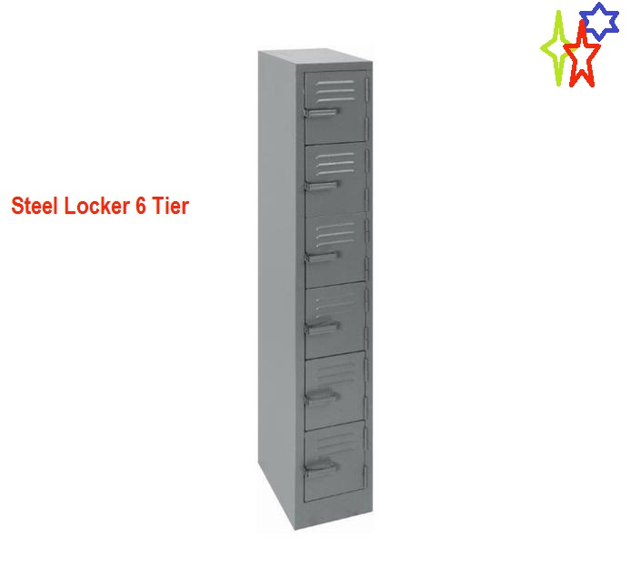 Steel Locker 6 Tier