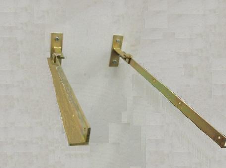 Electro Galvanise Wash Line Brackets