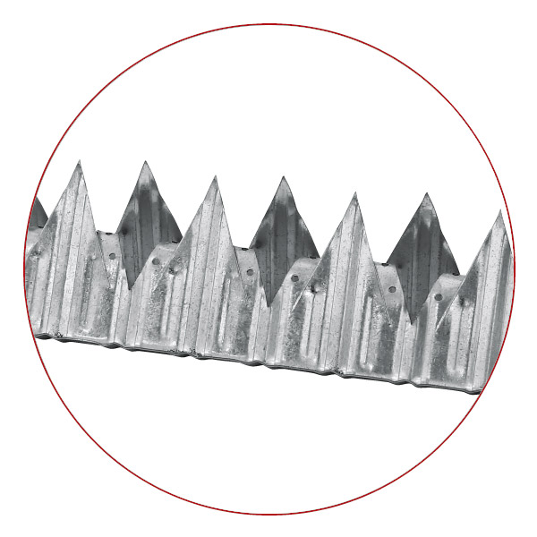 BCS Vibricrete Wall Spikes