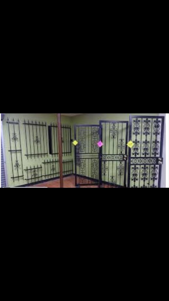 Various Custom Make Gates and Burglar Bars