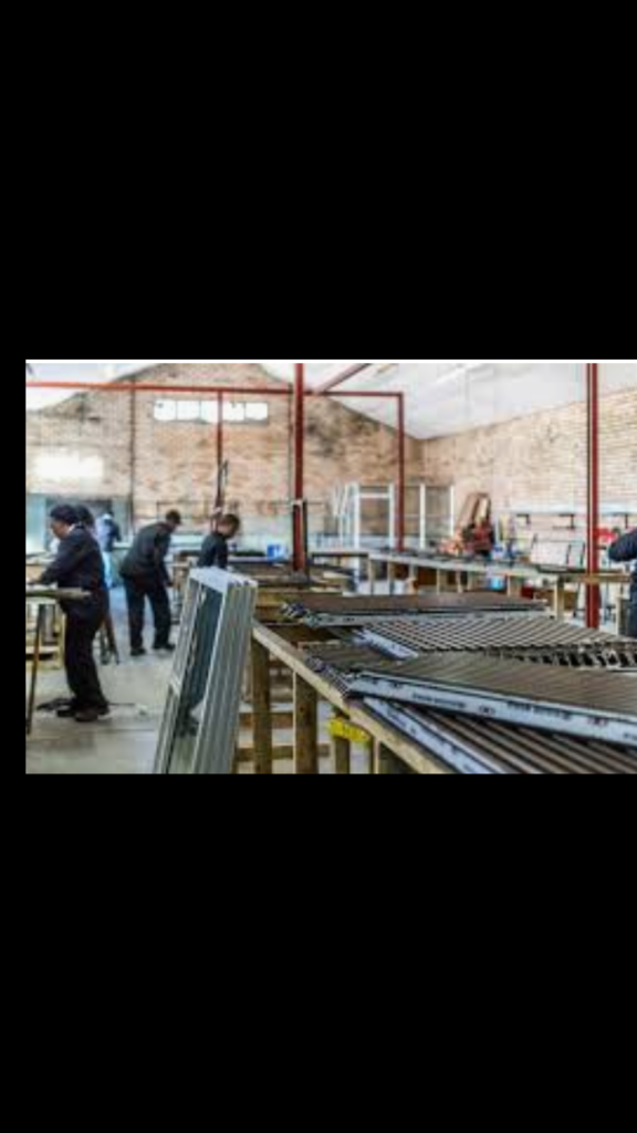 Steel Fabrication and Art Work Department