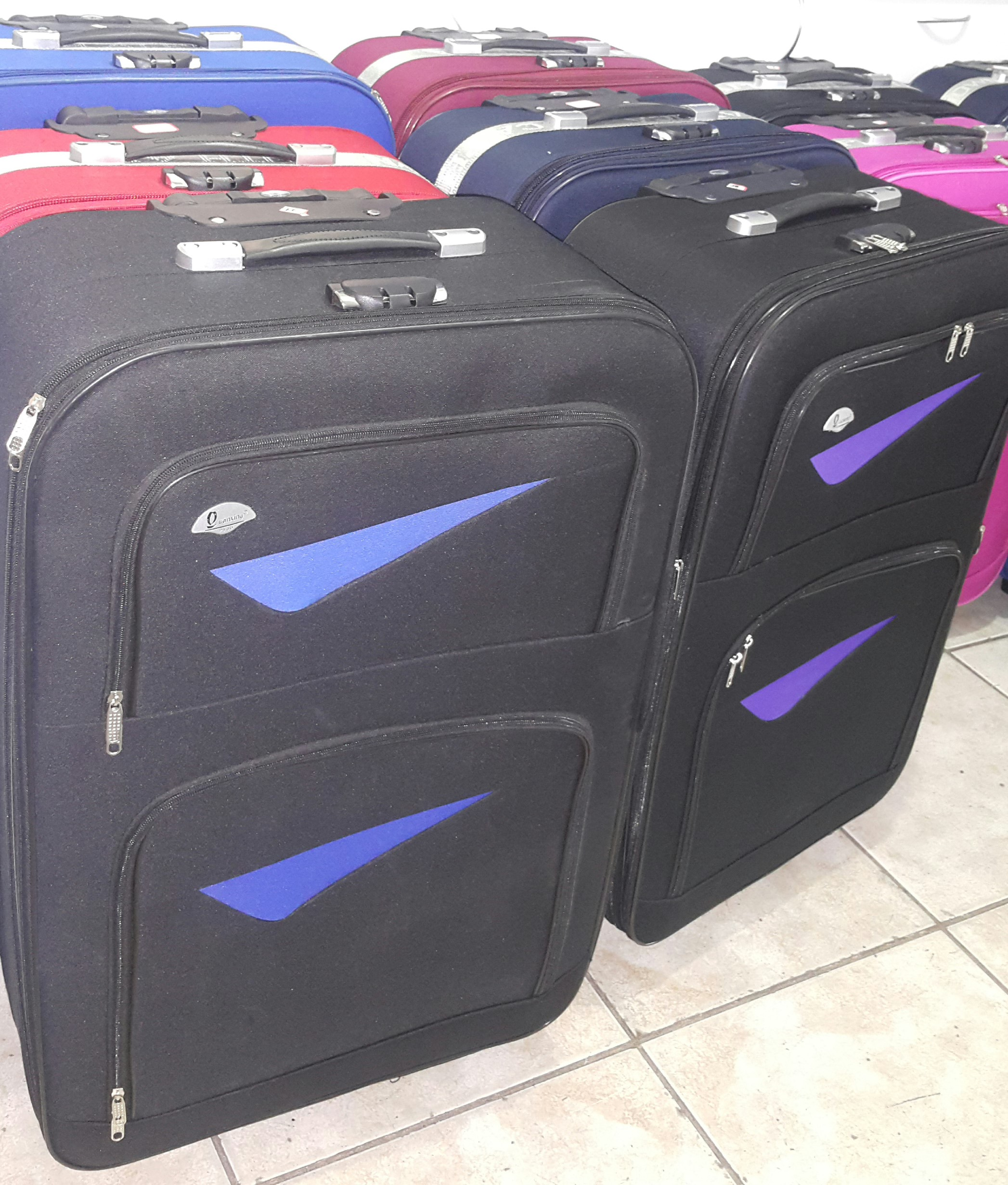 Various colours of our Luggage R550 Large Trolley Wheel Sets