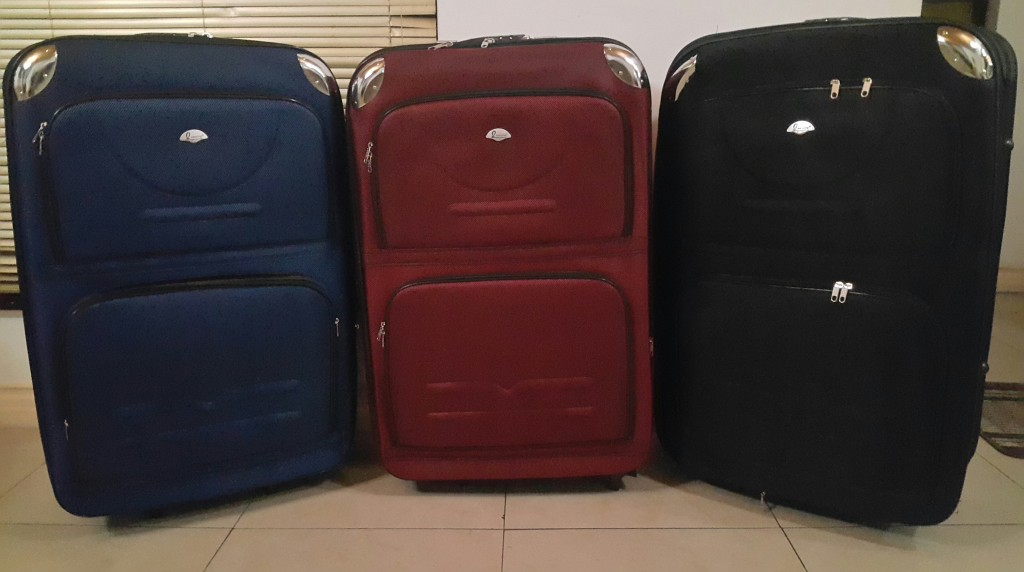 Various Colours of our BCS Extra Large Luggage Sets