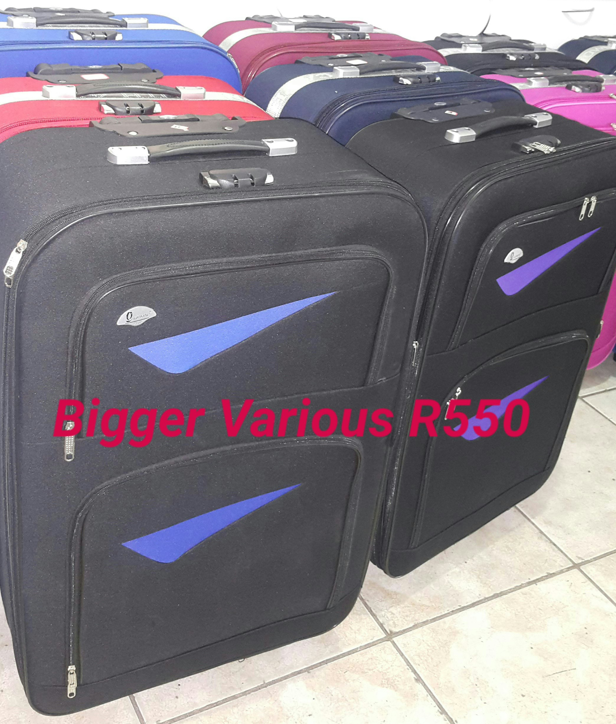 R550 for 3 Bags Various Colours