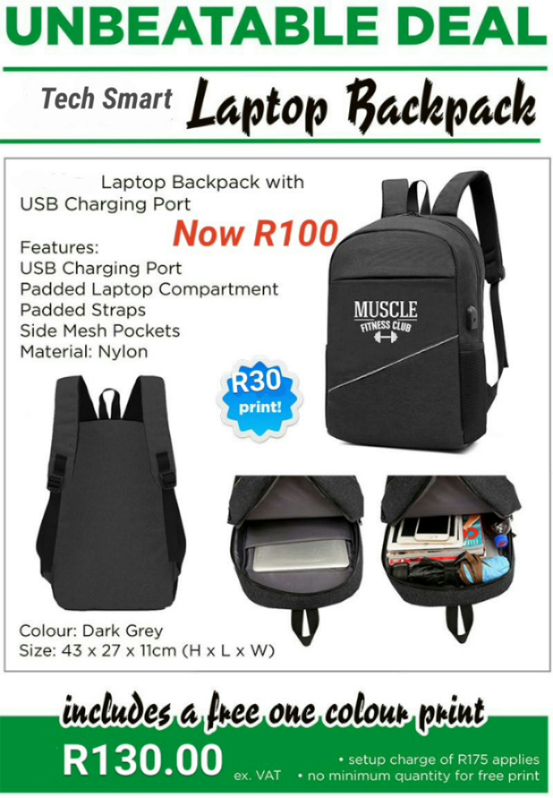Tech Smart Laptop Bag