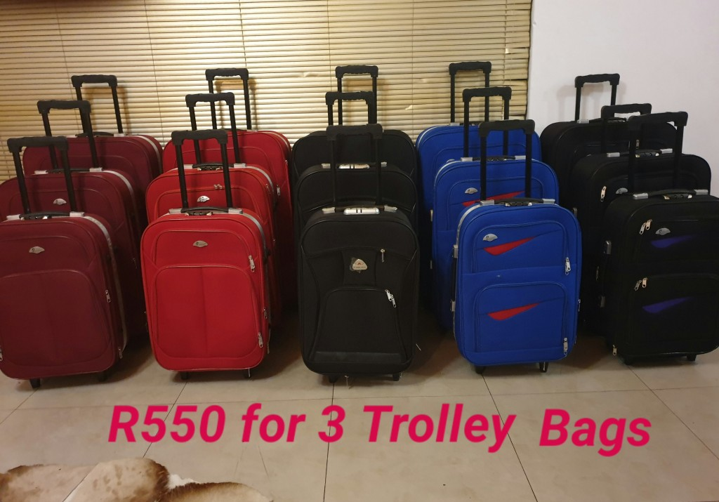 BCS Large R550 for 3 Trolley Bags