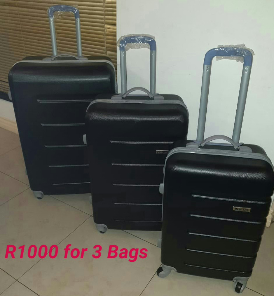 BCS Black Hardshell R1000 for 3 Bags