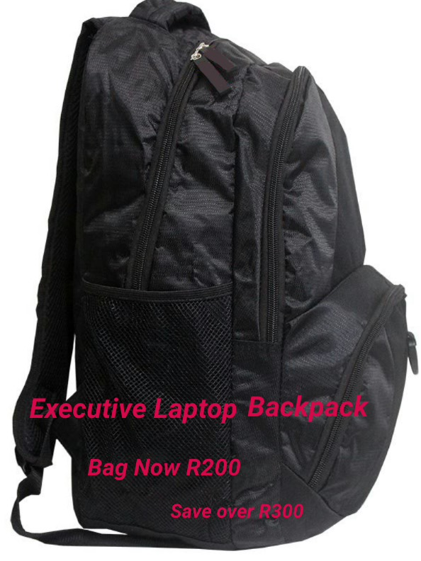 BCS Executive Backpack Bags Now R200