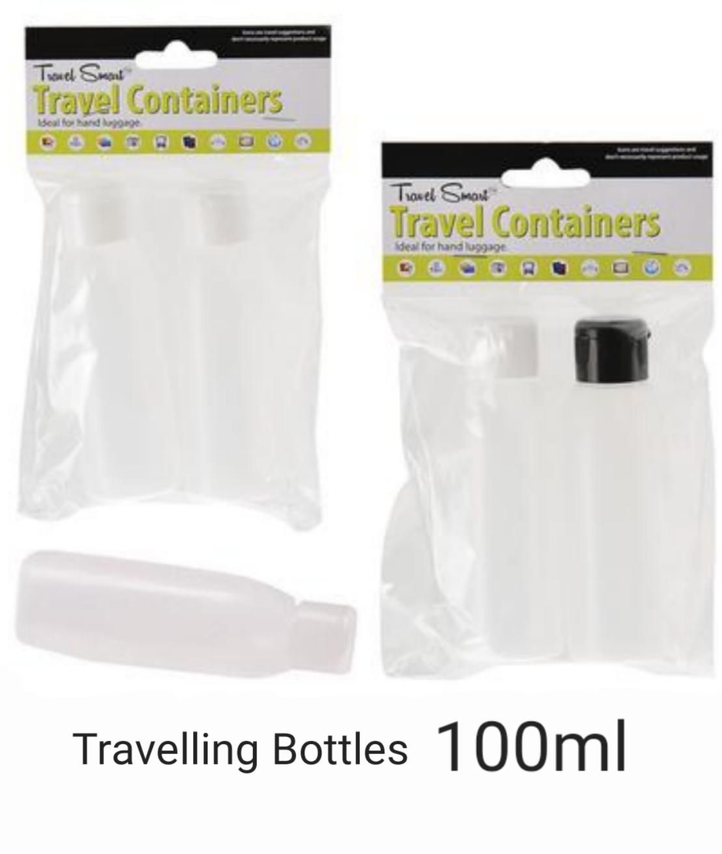 BCS 100ml Cap Bottles