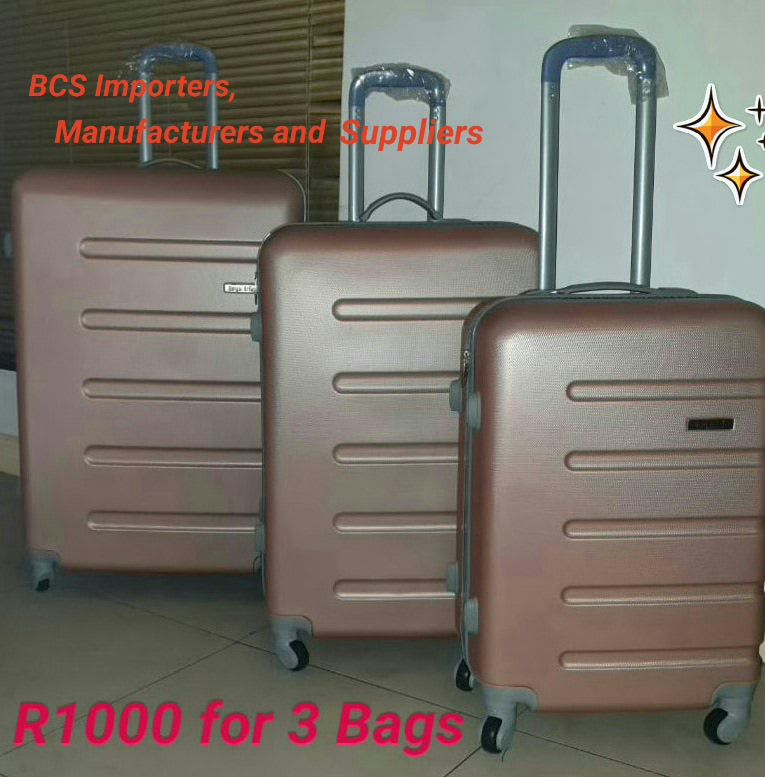 Rose Gold BCS Hardshell ABS Luggage Bags