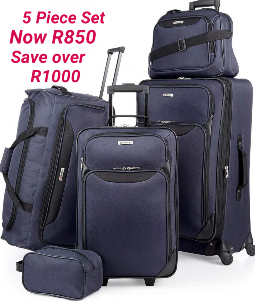 BCS Five Piece Luggage Set