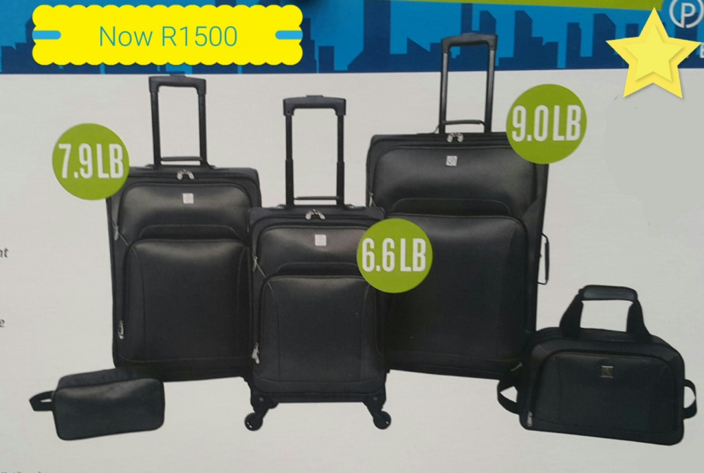 Lightweight BCS Five Piece Luggage Set