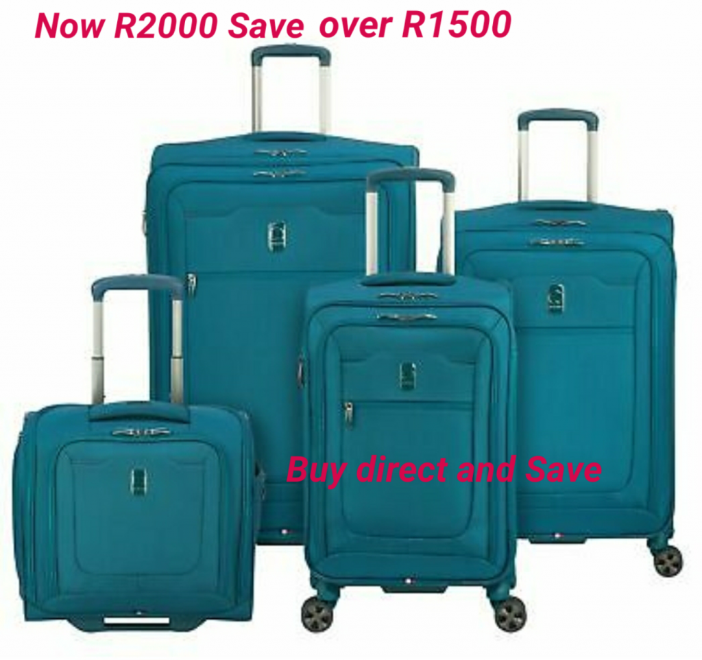 BCS Exclusive Teal Luggage Sets With Four Bags