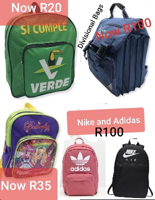 Various Half Price School Bags