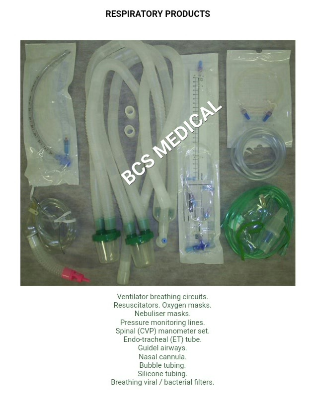 BCS Respiratory Products