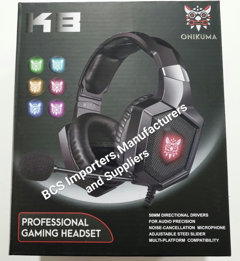 K8 Gaming Headsets