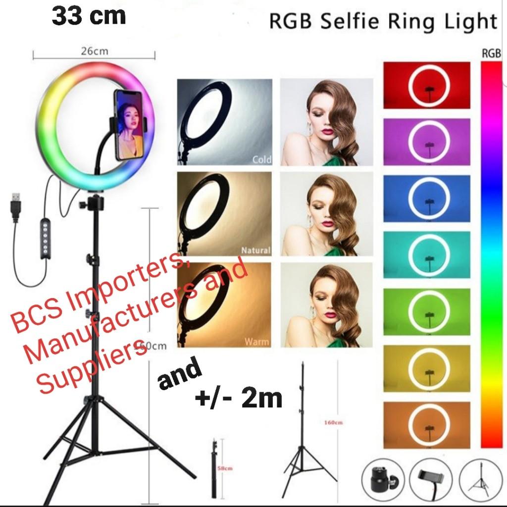 Colourfull Ring Lights Colour Ring Light